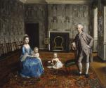 An Interior with Members of a Family