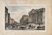 The Royal Exchange and Dame Street, Dublin