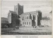 Christchurch Cathedral, Dublin from the South-East