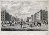 Sackville Street with the General Post Office and Nelson Pillar