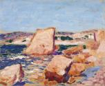 A Landscape with Rocks