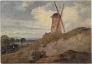 A Windmill; Woodland Glade (on reverse)