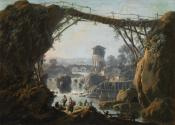 Landscape with Washerwomen and Peasants