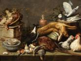 A Still Life with Dead Birds and a Hare