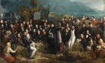 The Monster Meeting at Clifden in 1843