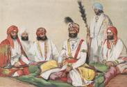 A Group of Indian Princes