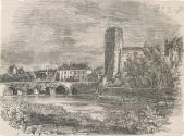 Cahir Castle and Bridge over the River Suir, County Tipperary