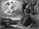 Saint Francis and the Musical Angel