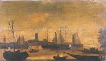 Shipping in Inland Waters (View of ?Dordrecht)