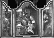 Triptych with the Adoration of the Magi